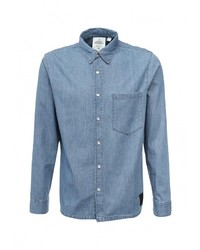 Мужская голубая джинсовая рубашка от Cheap Monday