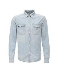 Мужская голубая джинсовая рубашка от Denim & Supply Ralph Lauren