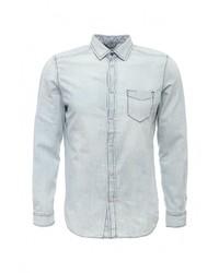 Мужская голубая джинсовая рубашка от Diesel