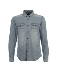 Мужская голубая джинсовая рубашка от Mavi
