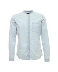 Мужская голубая джинсовая рубашка от Only & Sons