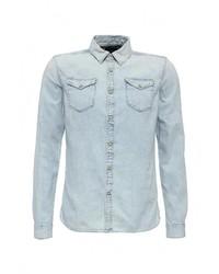 Мужская голубая джинсовая рубашка от Scotch&Soda