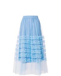 e59c67d46d8 Купить голубую длинную юбку - модные модели длинных юбок (285 ...
