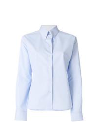 Женская голубая классическая рубашка от Calvin Klein 205W39nyc