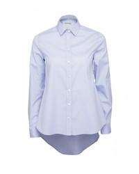 Женская голубая классическая рубашка от Colletto Bianco