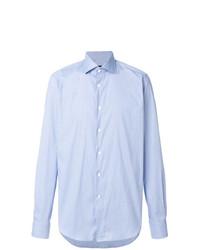 Мужская голубая классическая рубашка от Dell'oglio