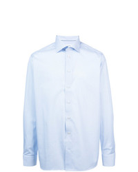 Мужская голубая классическая рубашка от Eton