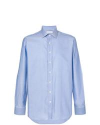 Мужская голубая классическая рубашка от Etro