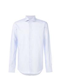 Мужская голубая классическая рубашка от Fashion Clinic Timeless