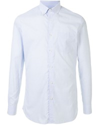 Мужская голубая классическая рубашка от Kent & Curwen