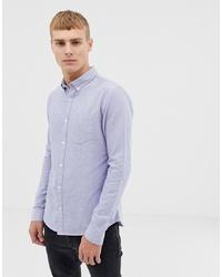 Мужская голубая классическая рубашка от New Look