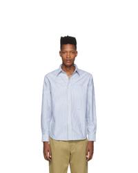 Мужская голубая классическая рубашка от Noah NYC