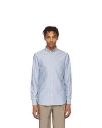 Мужская голубая классическая рубашка от Officine Generale