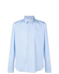 Мужская голубая классическая рубашка от Ps By Paul Smith