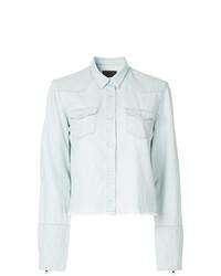 Женская голубая классическая рубашка от RtA