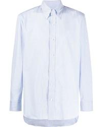 Мужская голубая классическая рубашка от Salvatore Piccolo