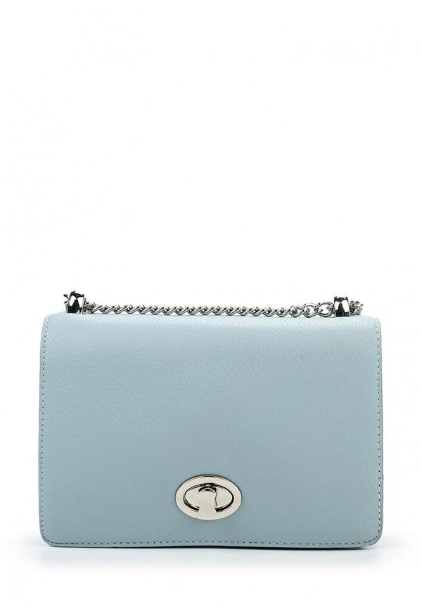 826a980ff6b0 Голубая кожаная сумка через плечо от David Jones, 2 399 руб ...