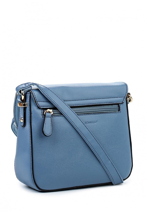 23a40ebf8189 Голубая кожаная сумка через плечо от David Jones, 1 940 руб. | Lamoda |  Лукастик
