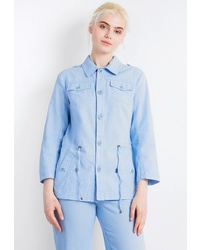 Женская голубая куртка-рубашка от FiNN FLARE