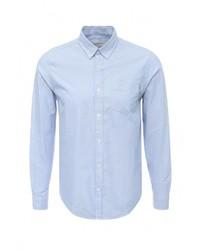 Мужская голубая рубашка с длинным рукавом от Carhartt
