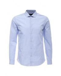 Мужская голубая рубашка с длинным рукавом от Celio
