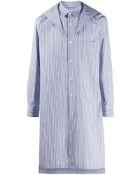 Мужская голубая рубашка с длинным рукавом от Comme Des Garcons SHIRT