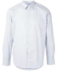 Мужская голубая рубашка с длинным рукавом от D'urban