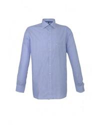 Мужская голубая рубашка с длинным рукавом от Eterna