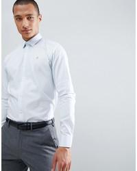 Мужская голубая рубашка с длинным рукавом от Farah Smart