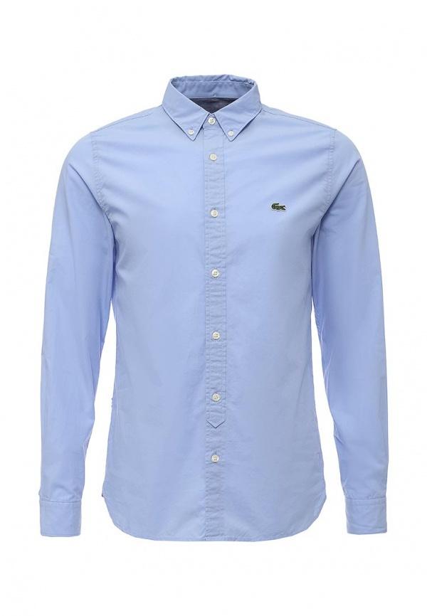 fea50447e8a3 Мужская голубая рубашка с длинным рукавом от Lacoste   Где купить и ...