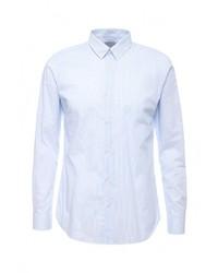 Мужская голубая рубашка с длинным рукавом от Selected Homme