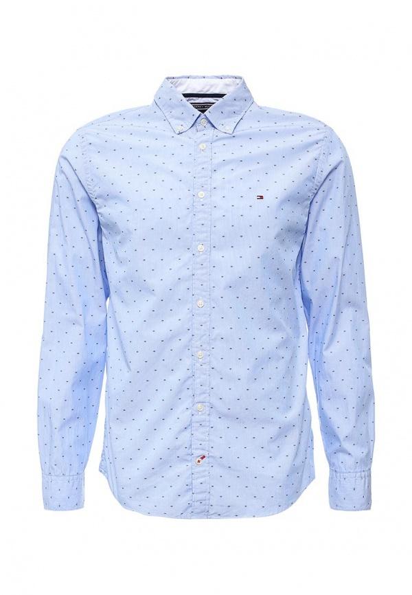 1a1073a26e60 9 990 руб., Мужская голубая рубашка с длинным рукавом от Tommy Hilfiger
