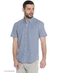 Мужская голубая рубашка с коротким рукавом от FiNN FLARE