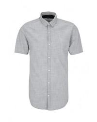Мужская голубая рубашка с коротким рукавом от s.Oliver Denim