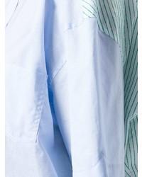 Женская голубая рубашка с коротким рукавом от Y/Project