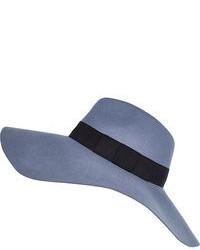 Голубая шляпа
