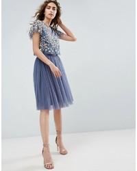 768bb6d5113 Купить голубую юбку из фатина - модные модели юбок (106 товаров ...