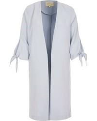 Голубое пальто дастер