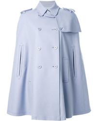 Голубое пальто-накидка от RED Valentino