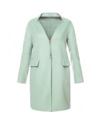 Женское голубое пальто от Спартак