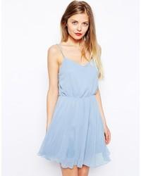 97ecd8dc1a7 Купить голубое шифоновое коктейльное платье - модные модели ...
