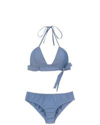 Голубой бикини-топ от Adriana Degreas