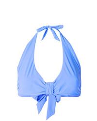 Голубой бикини-топ от Heidi Klein