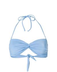 Голубой бикини-топ от Mara Hoffman