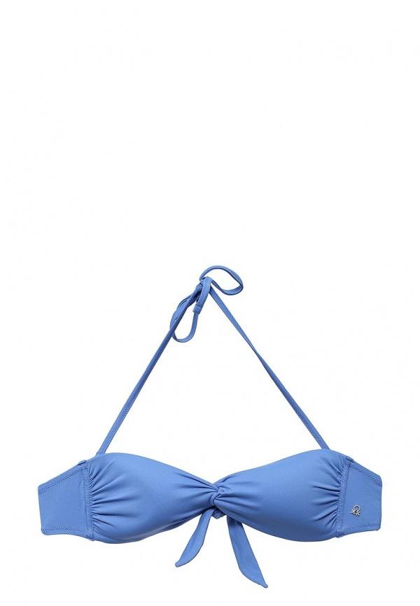 Голубой бикини-топ от United Colors of Benetton