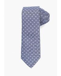 Мужской голубой галстук с принтом от Mango Man
