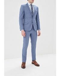 Голубой костюм от Absolutex