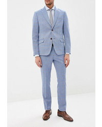 Голубой костюм от Brinardelli