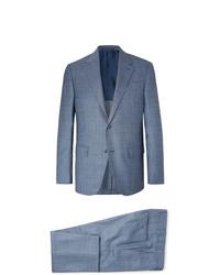 Голубой костюм от Ermenegildo Zegna