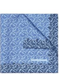 Мужской голубой нагрудный платок с принтом от Turnbull & Asser